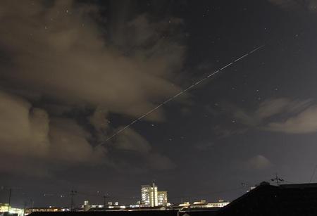 国際 宇宙 ステーション 見える
