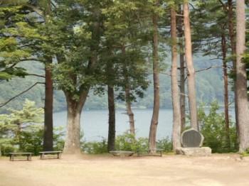 木崎湖遠望