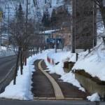 合庁前の除雪