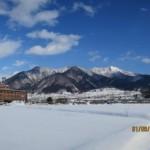 高社山と合庁(冬)