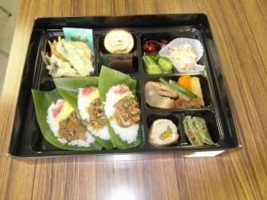 sasa菜の花弁当写真