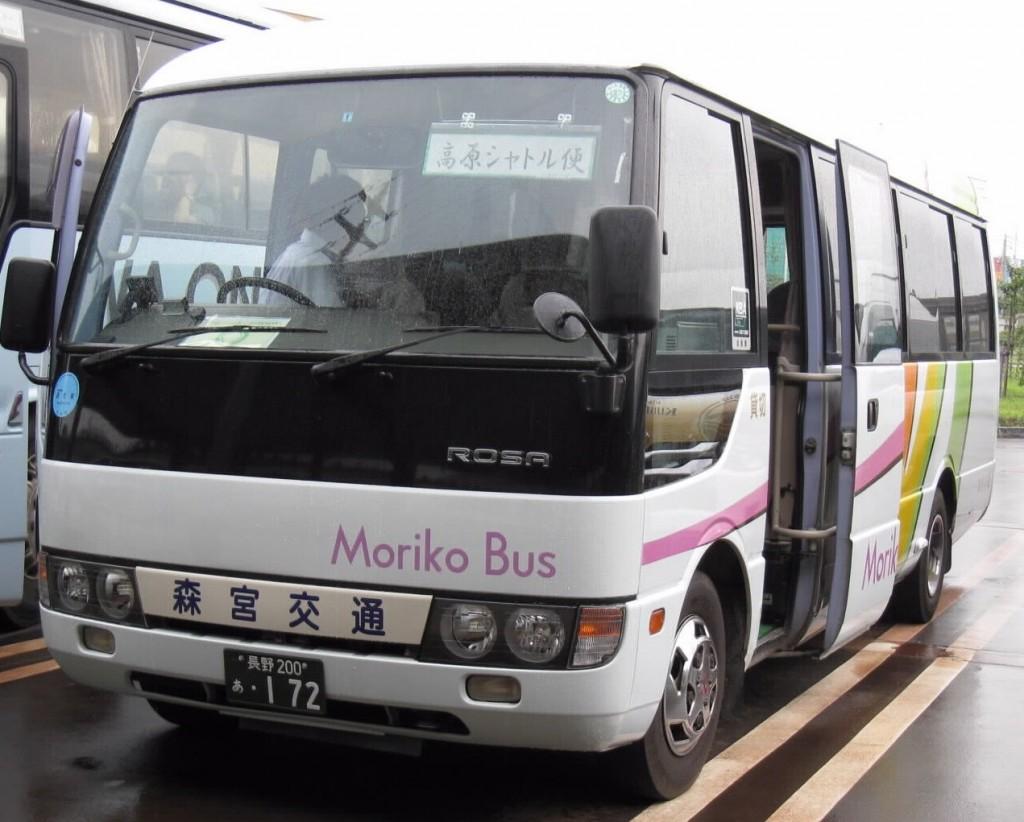 1 シャトル便のバス2