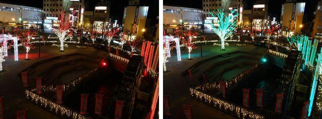 信州上田灯りの祭典~赤と緑の饗宴