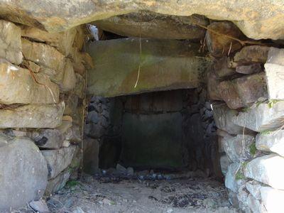 赤坂将軍塚古墳の石室内で白く光るものは・・・