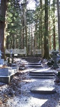 墓所への道t
