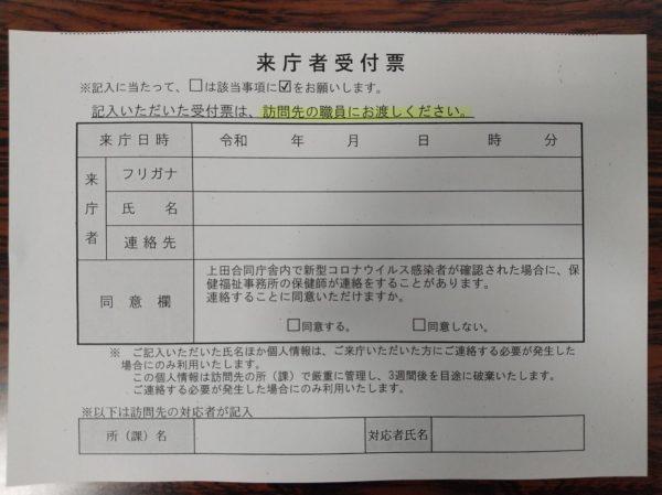市 名前 上田 コロナ 感染 者