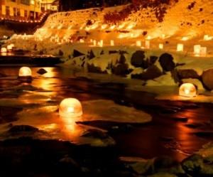 氷雪の灯祭り(福島②)
