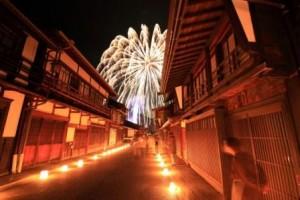 氷雪の灯祭り(奈良井②)