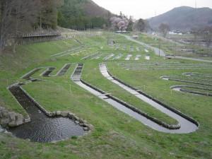 2010-01童謡公園水路写真