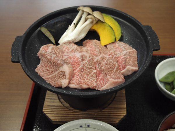 木曽牛定食