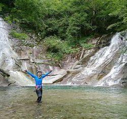 釜ノ沢両門の滝