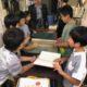 「ようこそ!県立長野図書館へ」ー阿智村浪合小学校社会見学