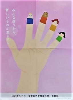 多文化共生ポスター