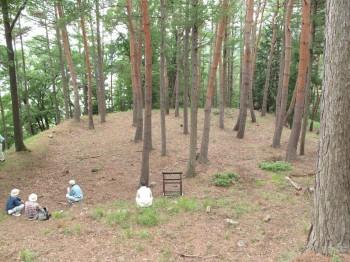 林小城の主郭