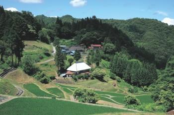 ふるさと信州風景100選(八坂押の田)