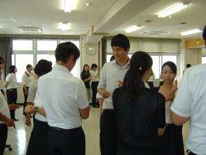 ○演習1「人間関係づくりワークショップ」