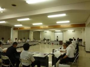 島田長野地方事務所長のあいさつで始まる。