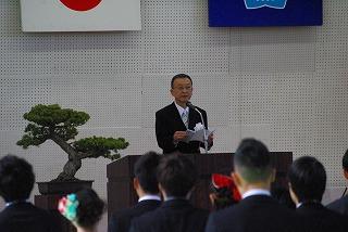 町田校長の式辞