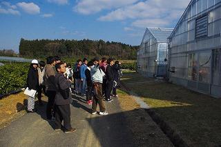 一日目の熊本県農業研究センター