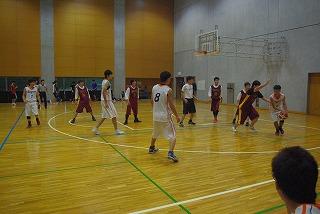 バスケットボール(白のユニホーム)