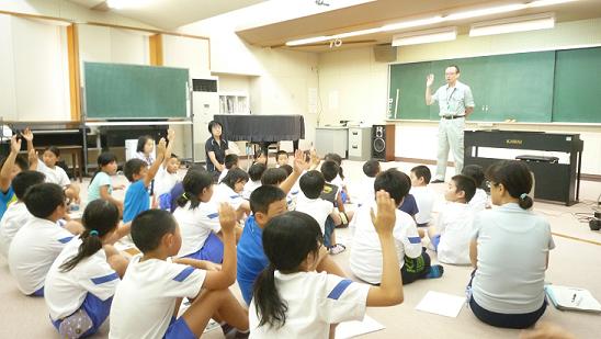 8月27日中条小学校