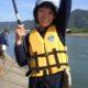 気分は太公望! 戸倉上山田の千曲川河川敷で小中学生ニジマス釣り教室を開催しました!