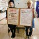 長野県短期大学生が考案したメニュー集を配布しています & 長野県立大学の学生さんが考案したヘルシーメニューが県庁食堂「ししとう」で提供されました