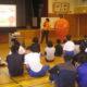 旬ちゃんは信州大学教育学部附属特別支援学校を訪問しました
