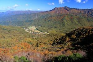 10.12南相木村と御座山