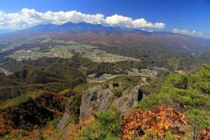 11.57男山から八ヶ岳