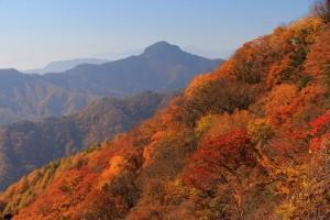 天狗山と紅葉