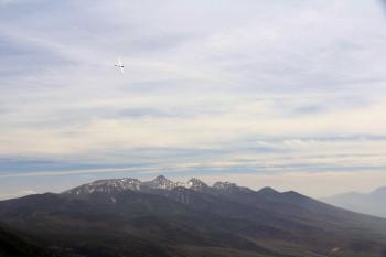12.03八ヶ岳とグライダー