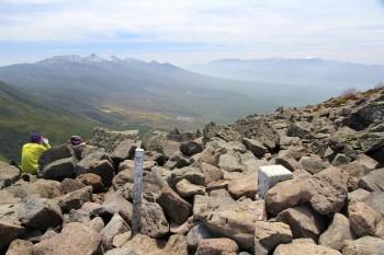 11.39山頂から八ヶ岳、南アルプス