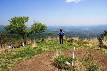 頂上から軽井沢方面