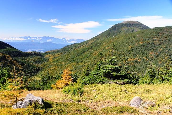 H29.10.09 9.33双子山から蓼科山