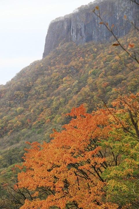 2017.10.24 8.32艫岩と紅葉