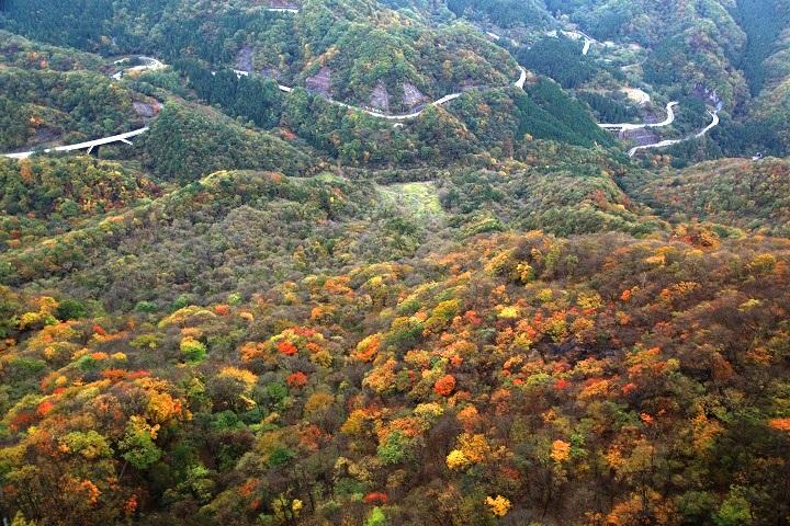 2017.10.24 9.32艫岩から紅葉