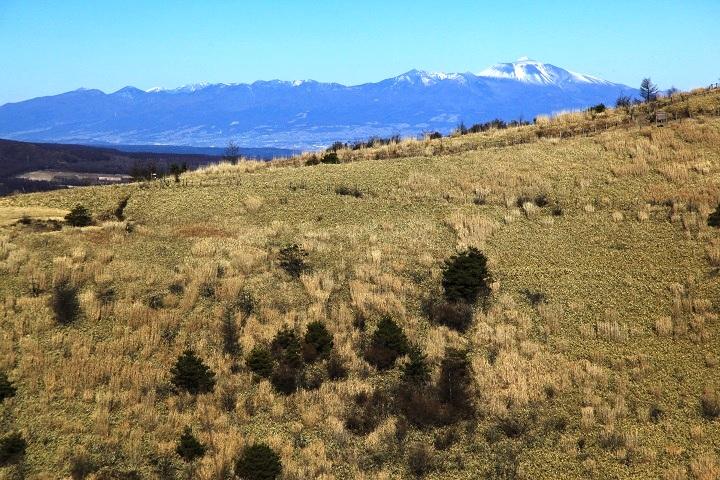 2017.12.07 11.30飯盛山山頂から(浅間山)