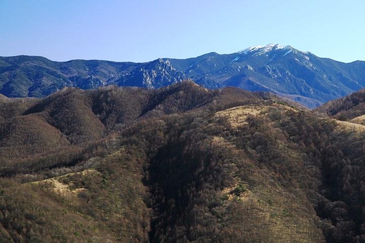 2017.12.07 11.27飯盛山山頂から(金峰山)