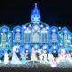 テーマは「雪の⼥王〜光のお城〜」!樫山工業イルミネーション2019-2020!(佐久市)