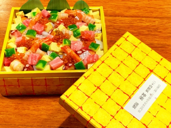 テイクアウト可能なちらし寿司